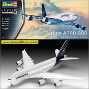 Airbus A380-800 Lufthansa New Livery - Revell - 1/144