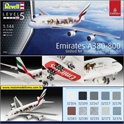 Airbus A380-800 Emirates United for Wildlife - Revell - 1/144