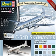 C-54D Skymaster 70 th Berlin Airlift - Revell - 1/72