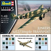 Junkers Ju52 / 3mg4e Transport - Revell - 1/48