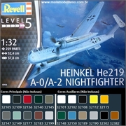 Heinkel He 219 A-0 / A-2 Nightfighter - Revell - 1/32