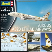 AIRBUS A320 Etihad Airways - Revell - 1/144