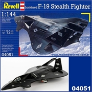F-19 STEALTH FIGHTER - Revell - 1/144