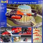 Helicóptero BO 105 35th Anniversary of Roth - Revell - 1/32