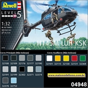 Helicóptero H145M LUH KSK Troop Transport - Revell - 1/32