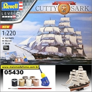 Cutty Sark 150th Anniversary - Gift-Set Revell - 1/220