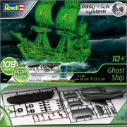 Navio PIRATA Fantasma - Ghost Ship - Easy-Click System Revell - 1/150