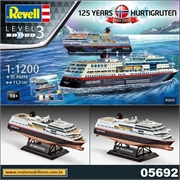 Hurtigruten 125th Anniversary - Model-Set Revell - 1/1200