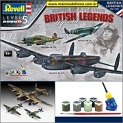 BRITISH LEGENDS - Revell Gift Set - 3 KITS 1/72