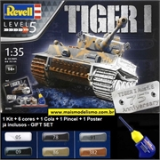 TIGER I Ausf E 75th Anniversary - Gift-Set Revell - 1/35