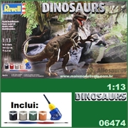 DINOSAURS - Allosaurus - MODEL-SET Revell - 1/13