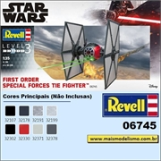STAR WARS - First Order Special Forces Tie Fighter - Revell - 1/35