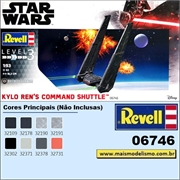 STAR WARS - Kylo Rens Commsnd Shuttle - Revell - 1/93