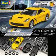 2014 - Chevrolet Corvette Stingray - Easy-Click System - Revell - 1/25