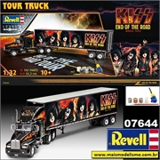 Caminhão KISS End of the Road Tour - Gift-Set Revell - 1/32