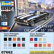 1968 - Chevy Chevelle SS 396 - Revell - 1/25