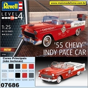 1955 - Chevy Indy Pace Car - Revell - 1/25
