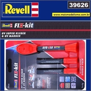 Fix-Kit de Super Cola UV + Refil (Double Pack) - Revell 39626