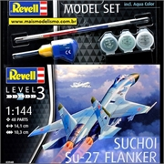 Suchoi Su-27 Flanker - Model-Set Revell - 1/144