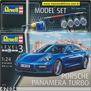 Porsche Panamera Turbo - Model Set Revell - 1/24