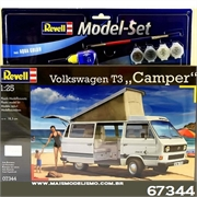 Volkswagen VW T3 Camper - Model Set Revell - 1/25