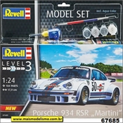 Porsche 934 RSR Martini - Model-Set Revell - 1/24