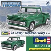 1965 - Chevy Stepside Pickup - Revell - 1/25