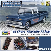 1966 - Chevy Fleetside Pickup - Revell - 1/25