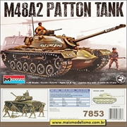 M48A2 Patton Tank - Monogram - 1/35