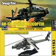 Helicóptero AH-64 APACHE - SNAP-TITE - Revell - 1/72