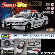 Chevy IMPALA POLICE CAR - Revell Snap - 1/25