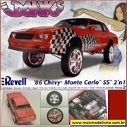 1986 - Chevy Monte Carlo SS - Revell - 1/24