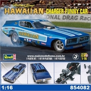 HAWAIIAN CHARGER FUNNY CAR - Revell - 1/16