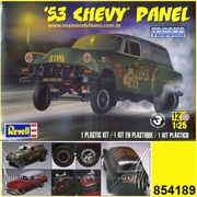 1953 - CHEVY PANEL - Revell - 1/25