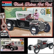 BLACK WIDOW Hot Rod - Monogram - 1/24