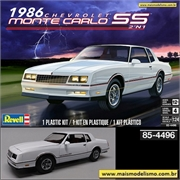 1986 - Chevrolet Monte Carlo SS - Revell - 1/24