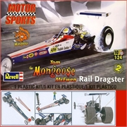 Dragster - TOM MONGOOSE McEWEN - Revell - 1/24