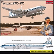 Douglas DC-7C PAA Pan American Airways - Roden - 1/144