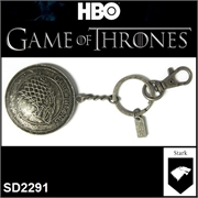 Chaveiro de Metal GAME OF THRONES - STARK