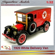 1920 - WHITE DELIVERY VAN - Signature - 1/32