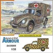 VW typ 83 Kastenwagen Ambuylance - Special Armour - 1/35