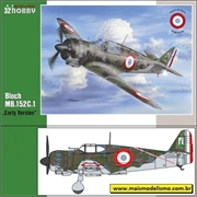 Bloch MB.152C.1 Early Version - Special Hobby - 1/32