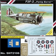 F 3F-2 Grumman Flying Barrel - Special Hobby - 1/72
