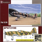 Fiat G.55 Captured Fiats - Special Hobby - 1/72