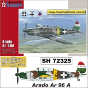 Arado Ar 96 A Argus As 10cc Engine Version - Special Hobby - 1/72