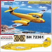Gloster Meteor Mk. 4 World Speed Record - Special Hobby - 1/72