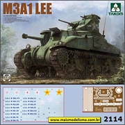 M3A1 Lee - US Medium Tank - Takom - 1/35