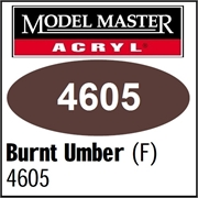 Tinta Model Master 4605 Acryl BURNT UMBER FOSCO - 14,7ml