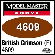 Tinta Model Master 4609 CARMESIM INGLES Fosco - 14,7ml