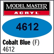 Tinta Model Master 4612 AZUL COBALTO Fosco - 14,7ml